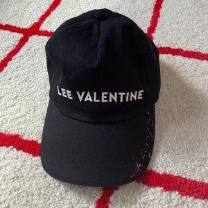 Lee Valentine Hummingbird Black 5 Panel Hat